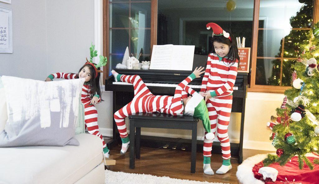 christmas pajamas for kids target