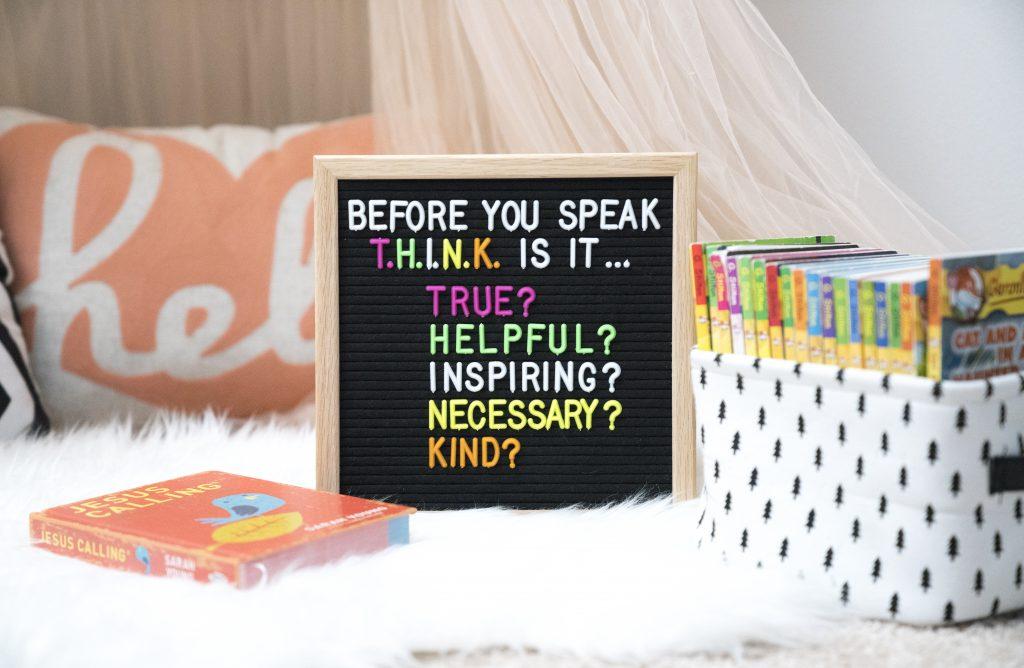 Before You Speak