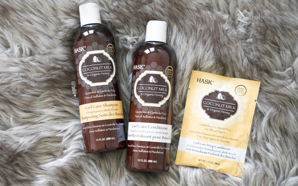 Hask Coconut Milk Shampoo + Conditioner Review