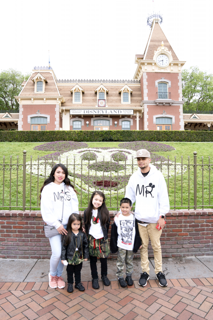 Our First Visit To Disneyland
