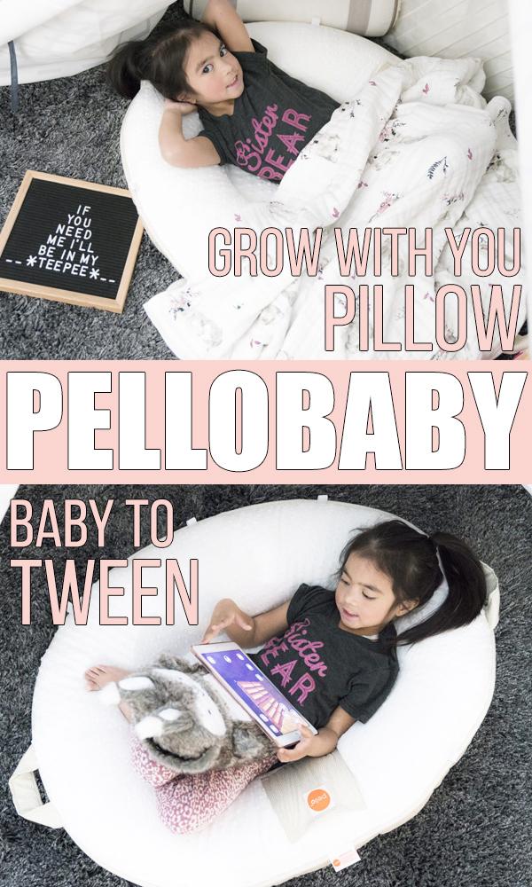 pello baby floor pillow