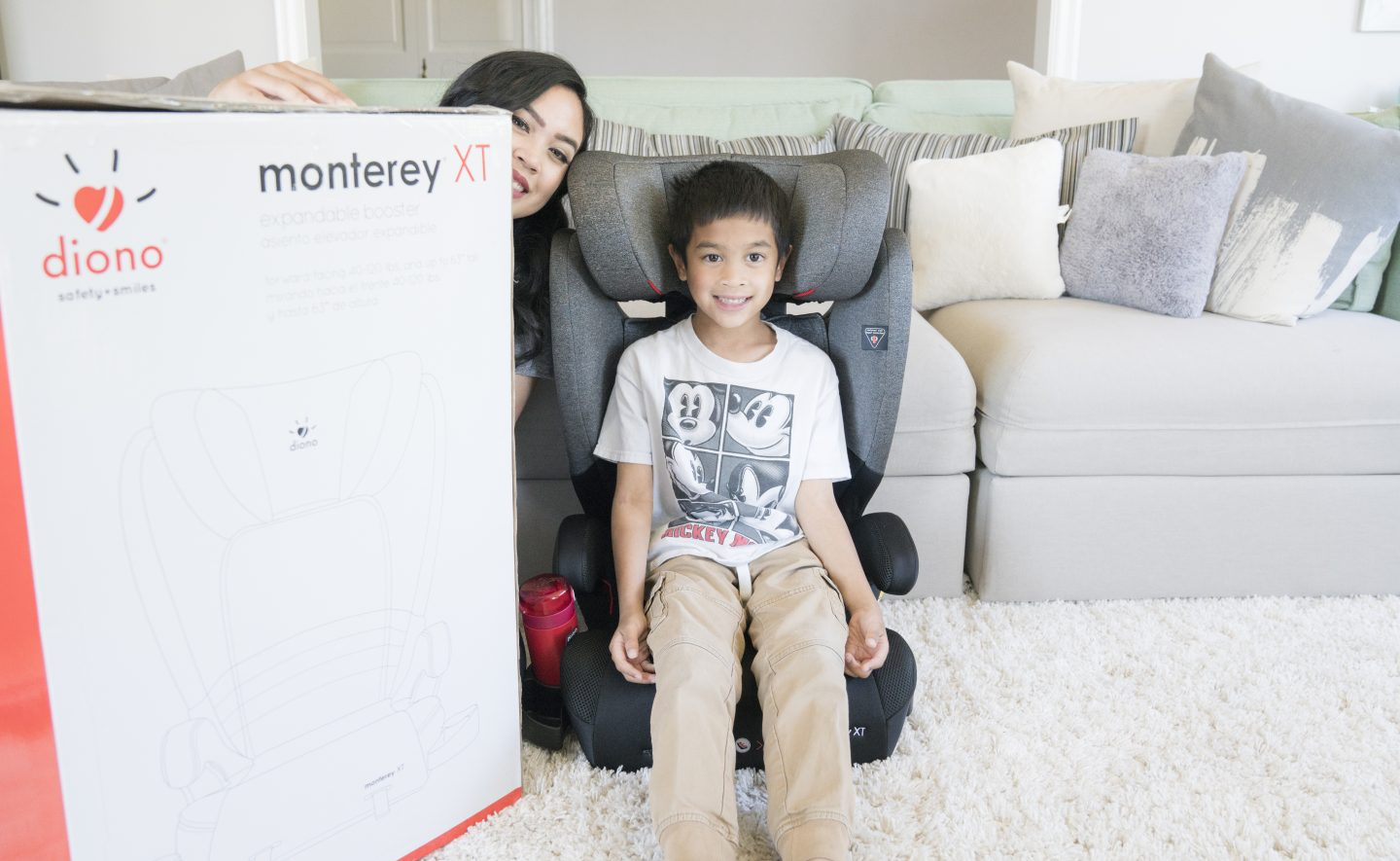 Diono Monterey XT Booster Seat Review