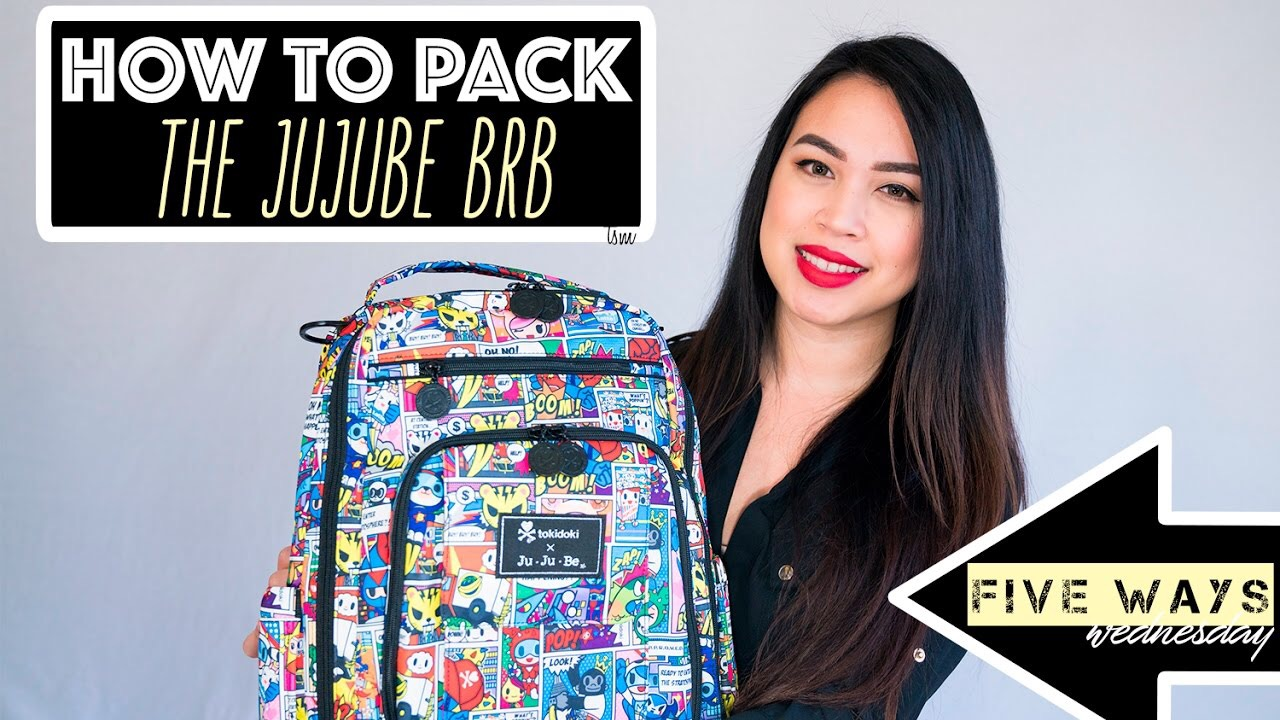 How To Pack The Jujube BRB Five Ways