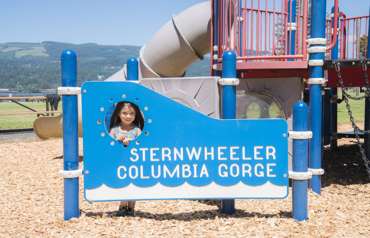 Sternwheeler Playground At The Columbia River Gorge