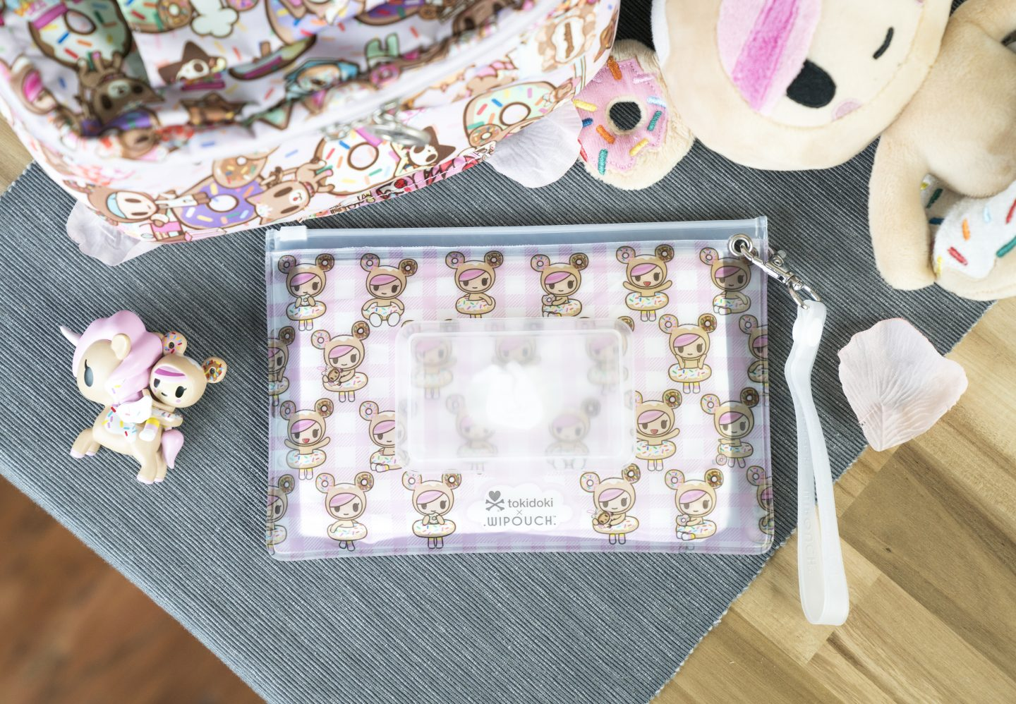 Tokidoki x Wipouch Collaboration – Donutella!